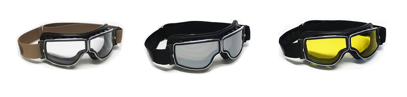 lunettes moto aviator goggle mod 4182 4h10. Black Bedroom Furniture Sets. Home Design Ideas