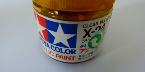 Tamiya color acrylic clear yellow x-24 4h10.com