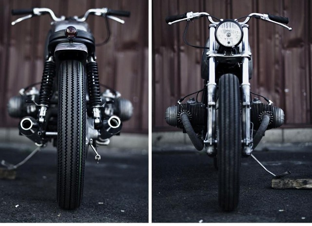 Clutch Custom Motorcycles Paris Atelier 4h10