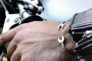bracelet clé rouille 4h10.com