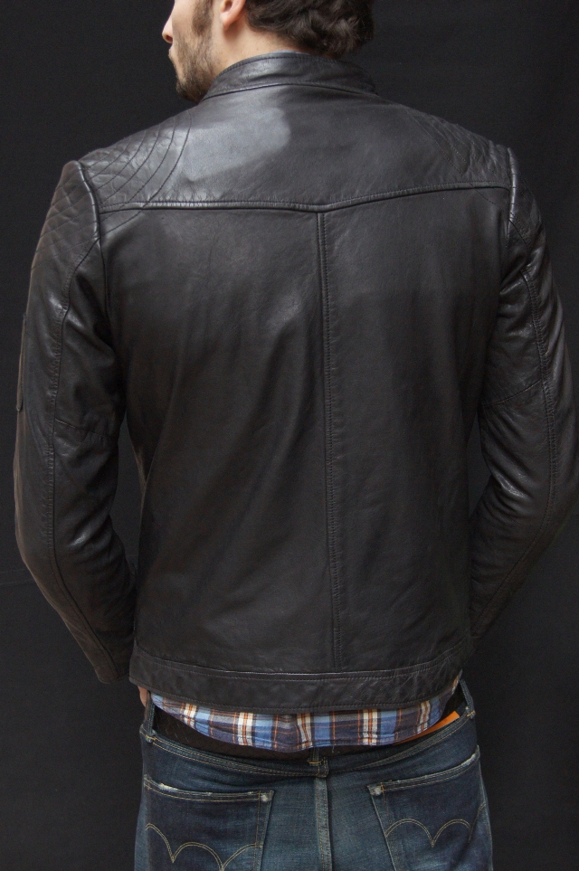 Edwin leather jacket