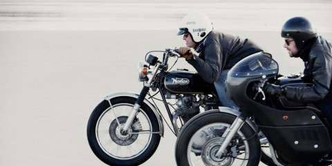 honda gb500 vs norton commando 4h10.com
