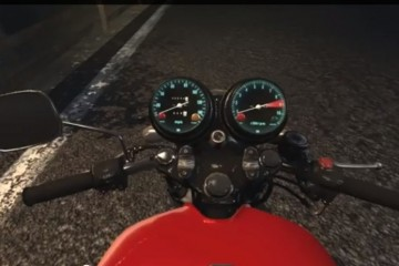 cafe racer honda 750 four video game