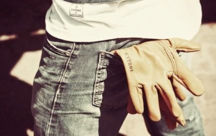 gants cuir kytone 4h10.com