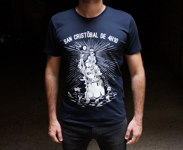 t shirt 4h10 san cristobal