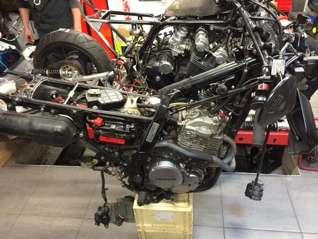 honda nx 650 dominator dirty sandy by 4h10.com
