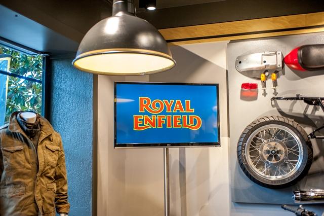 royalenfield showroom france 4h10.com