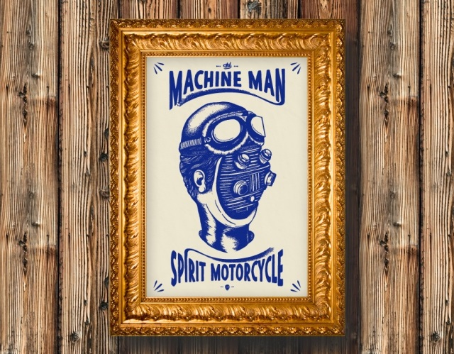 MACHINEMAN skuddesign 4h10.com