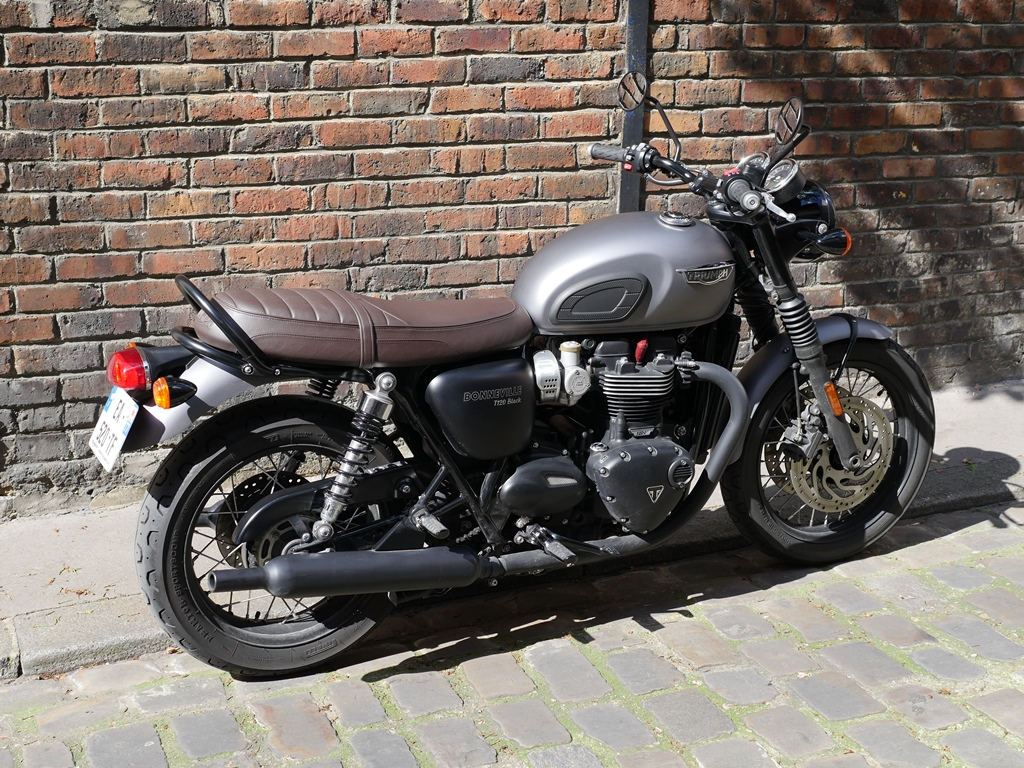 Bonneville And Son >> 1 mois en Triumph Bonneville T120 Black (1200cc) | 4h10