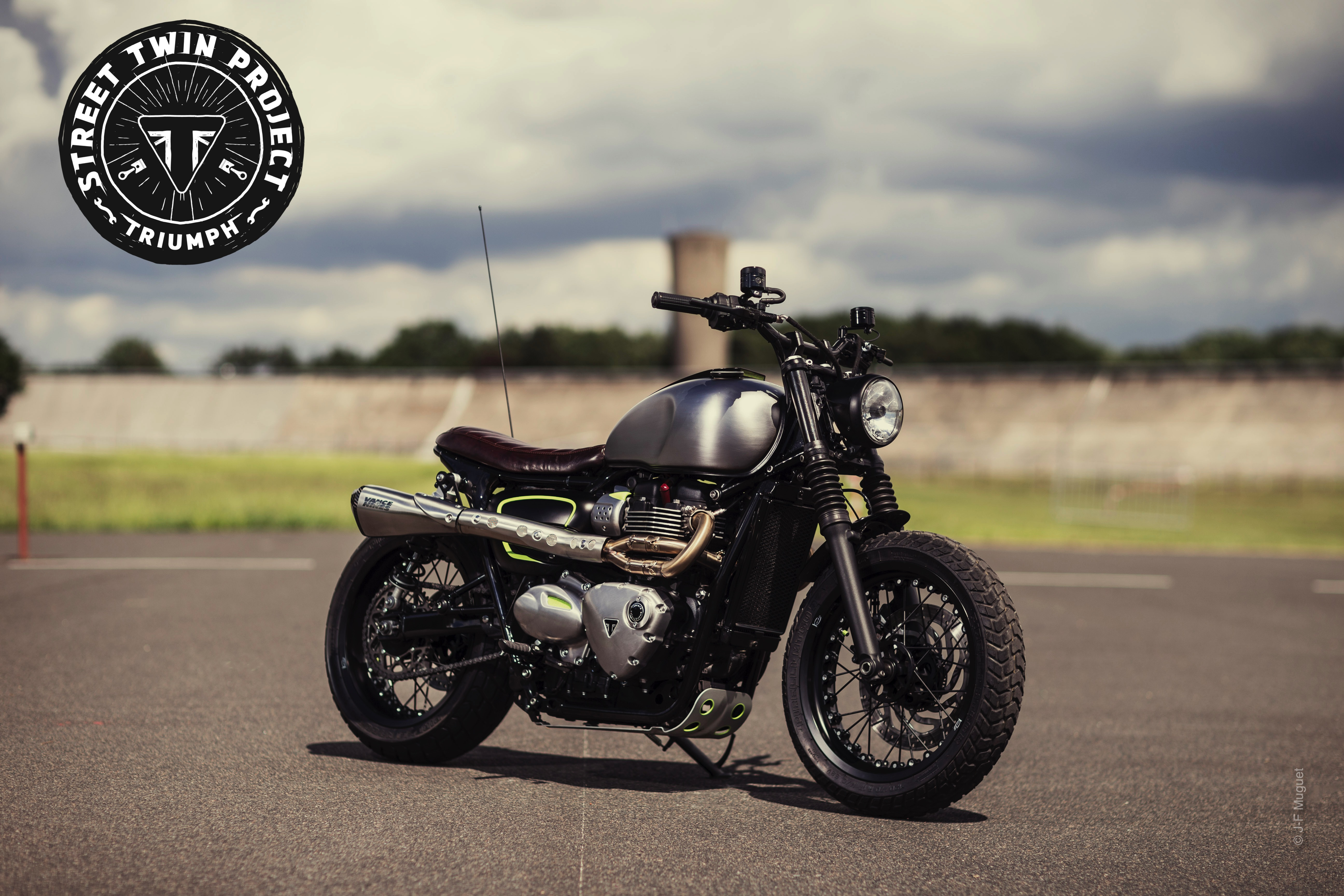 Triumph Street Twin Project 2016 4h10.com
