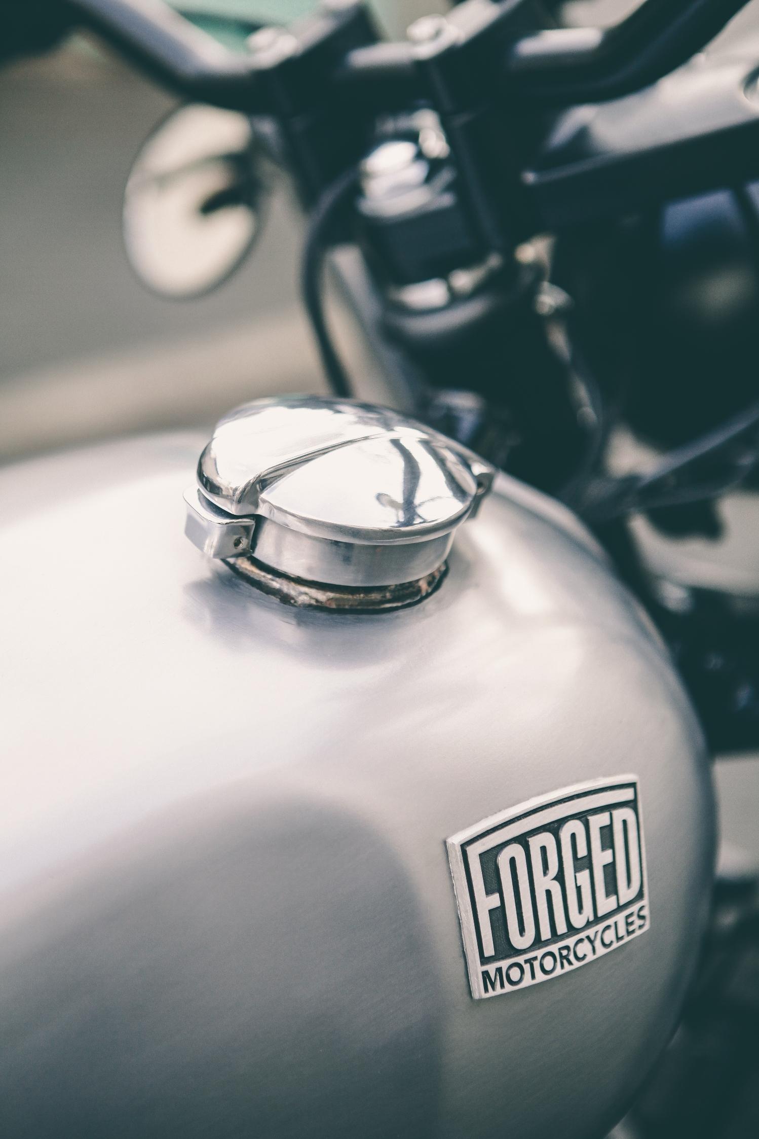 Forged Motorcycles van van scrambler 4h10.com