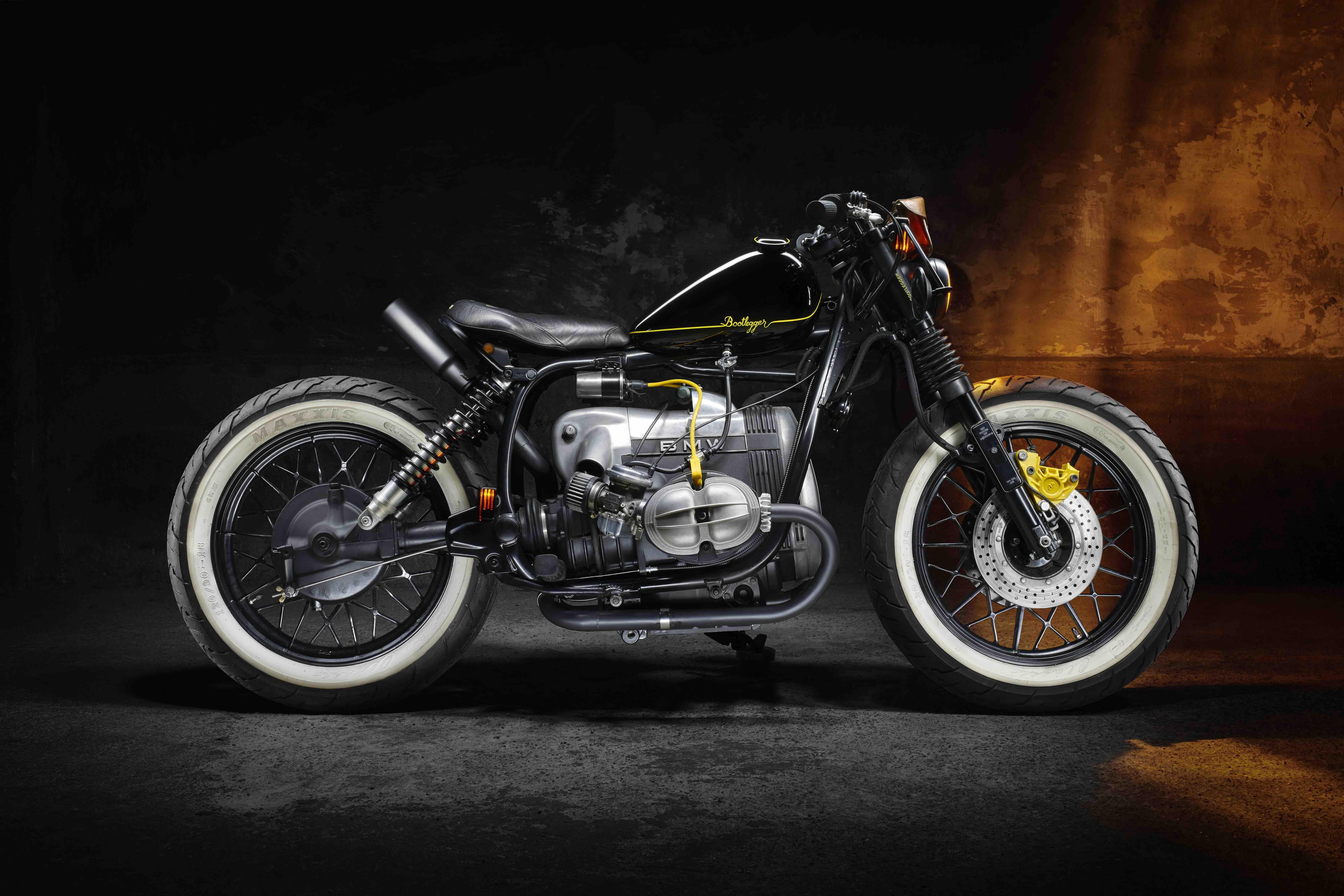 Modification Motorcycles F 234 Te Ses 3 Ans Avec Une Bmw R45