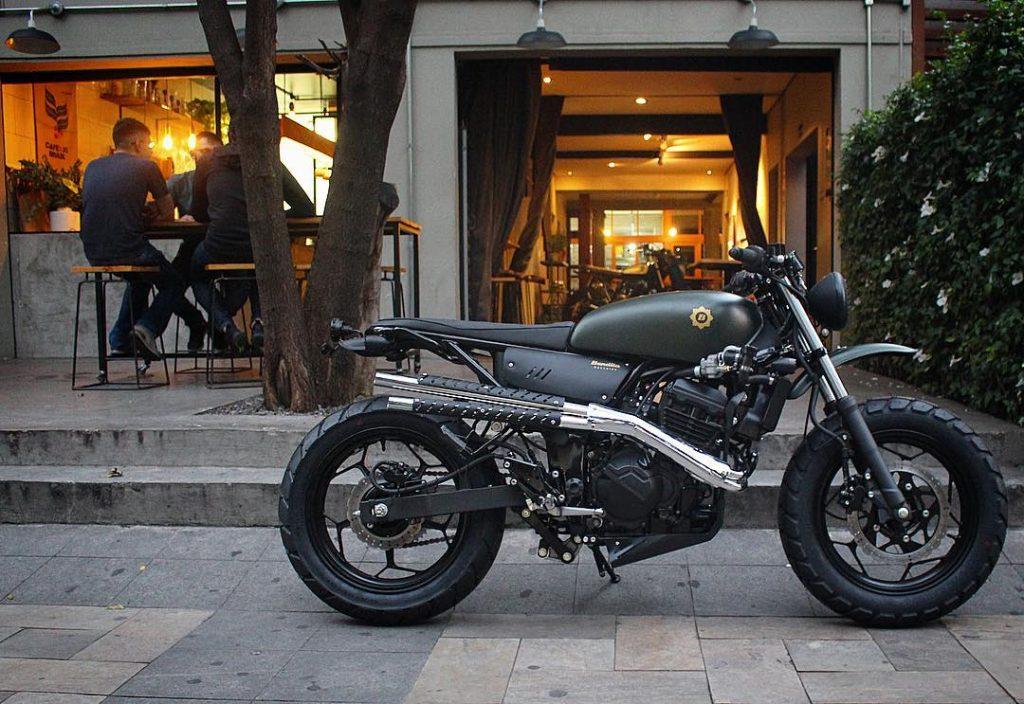 Macchina Bendita-neuve-neuves-São Paulo-brésil-custom-motorcycle-bike-kustom-préparation-moto-neuf-moto neuve-
