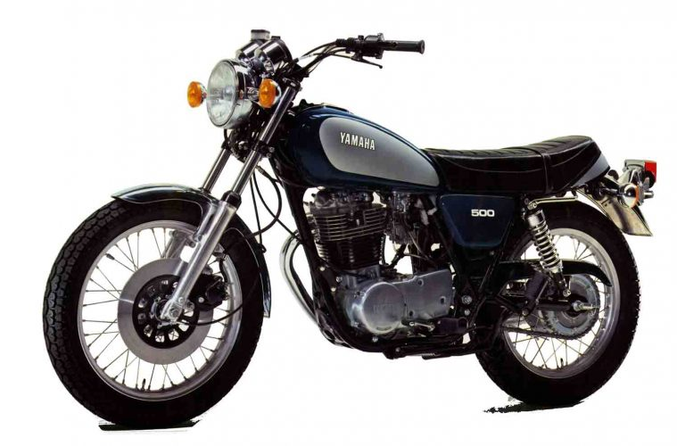 yamaha 500 sr moto neo retro 500cc 4h10. Black Bedroom Furniture Sets. Home Design Ideas