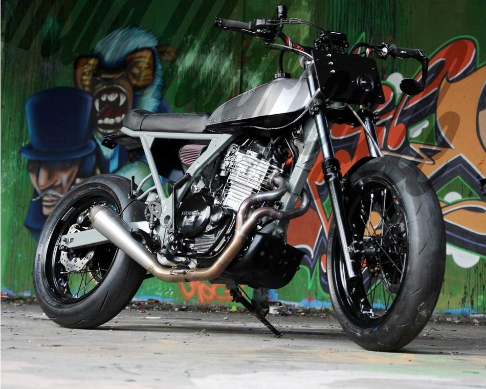 honda 650 nex dominator mad motorcycle 4h10.com
