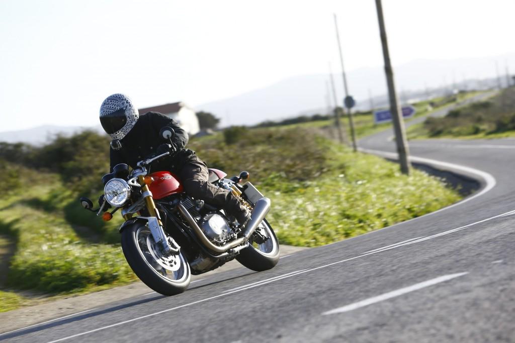 Triumph Thruxton R 1200cc – L'essai !