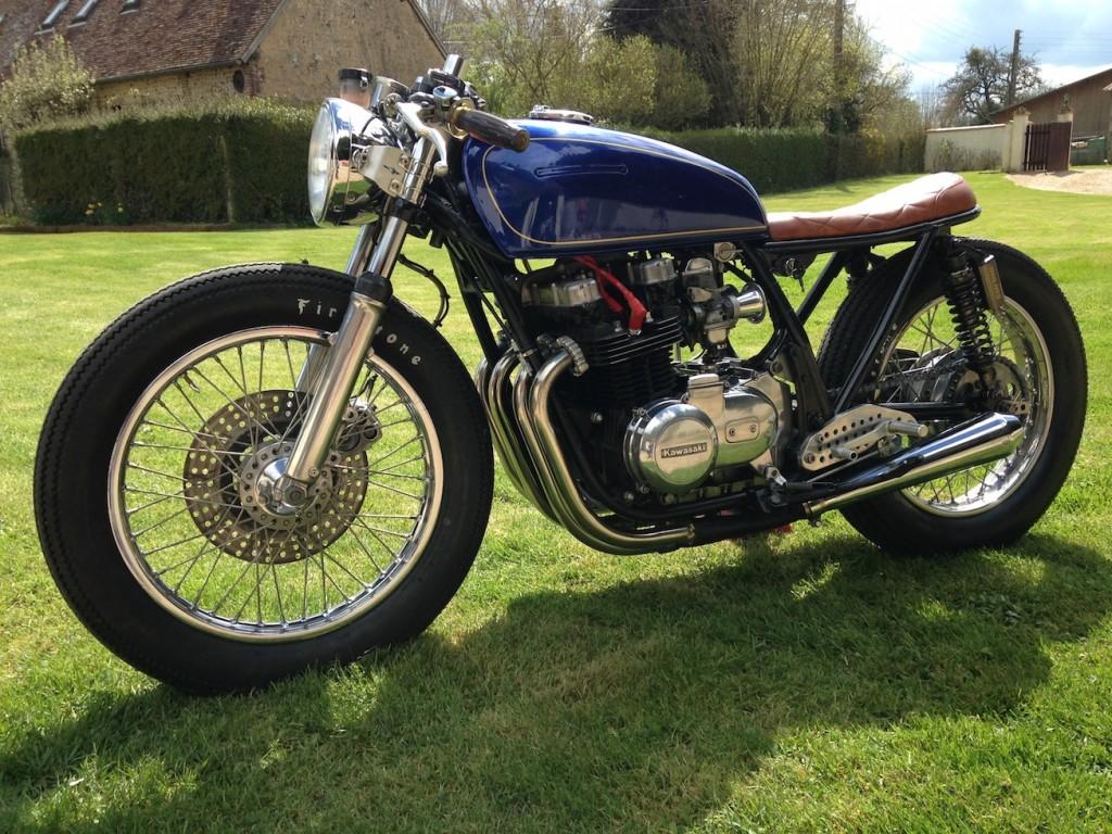 La petite moto d'Avril – Kawa Z650 – 1979