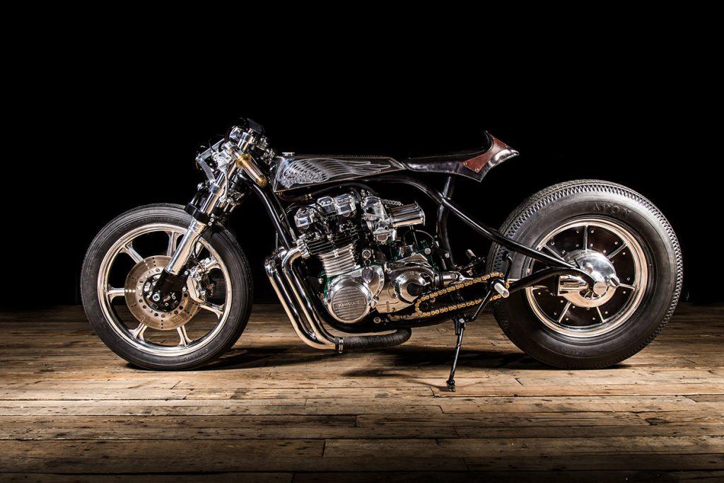 Kawasaki Z1000 ST par Ed Turner