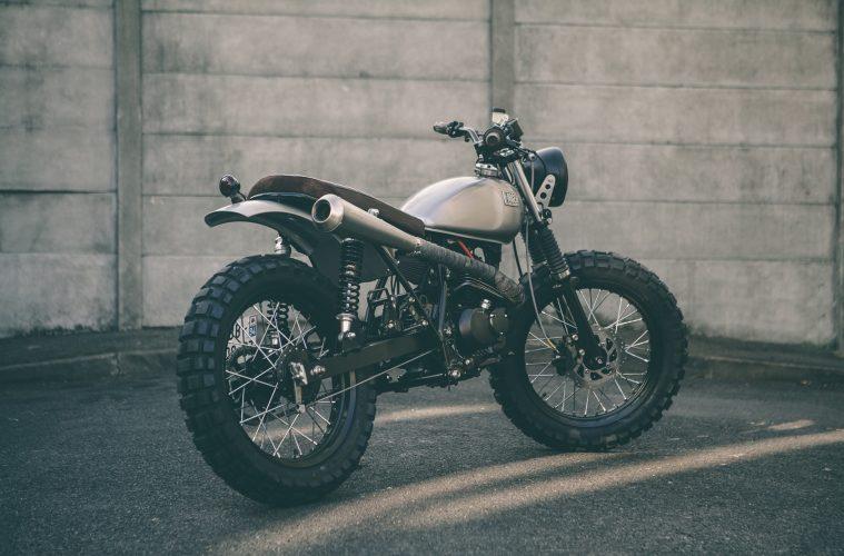 Suzuki Van Van Quot Scrambler Quot Forged Motorcycles 4h10