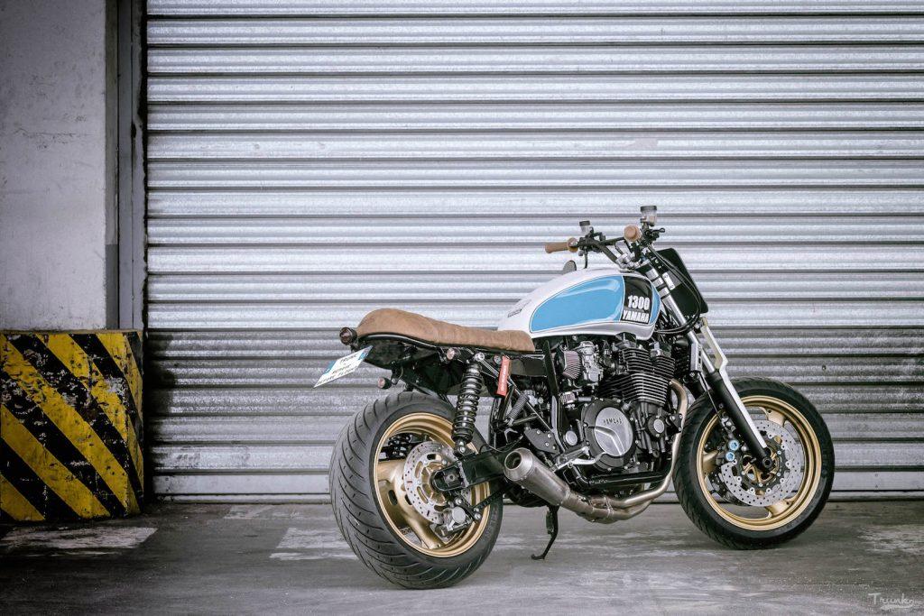 La petite moto de Juillet – 1300 XJR – TRUNK