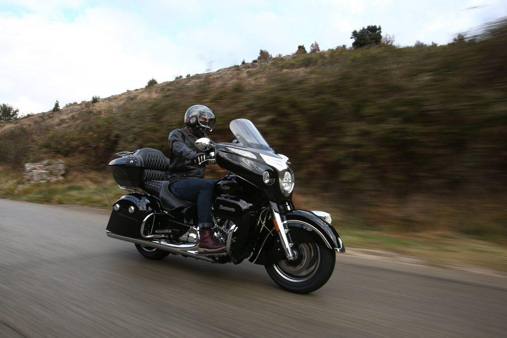 Indian, Indian motorcycle, motorcycle, 4h10, Roadmaster, Chieftan, Thunder Black, Moto, Custom, Essai, Routière, Route, Voyage, Roadmaster Indian, Indian Roadmaster