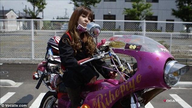 Bosozoku gang japonais biker vintage 4h10