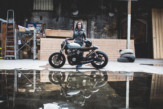assurance perso cafe racer moto garage preparée accident 4h10 1