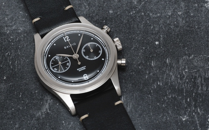 Une montre française est en route, la BALTIC.