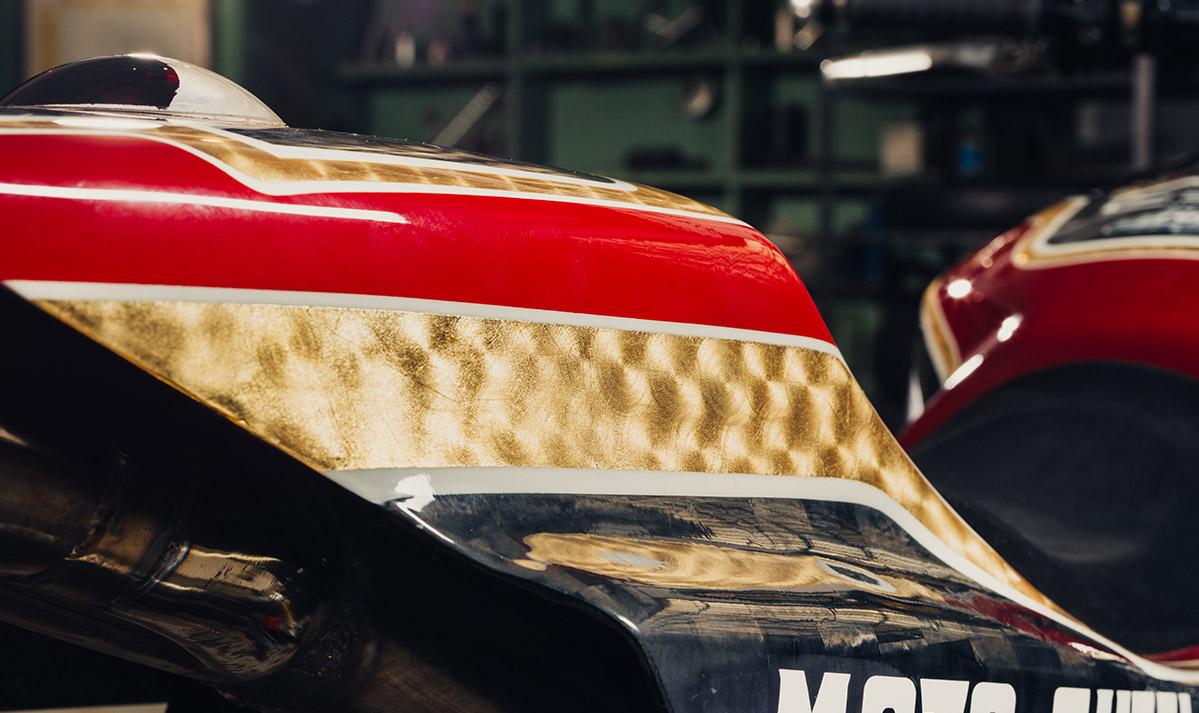 Moto Guzzi Griso Dirt track by CRN