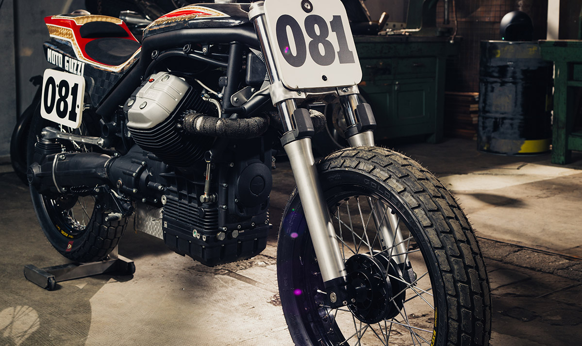 Moto Guzzi Griso Dirt track by CRN