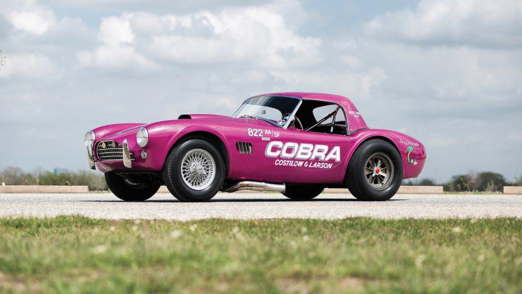 Une Shelby Cobra «Dragonsnake» de 1963 à vendre !