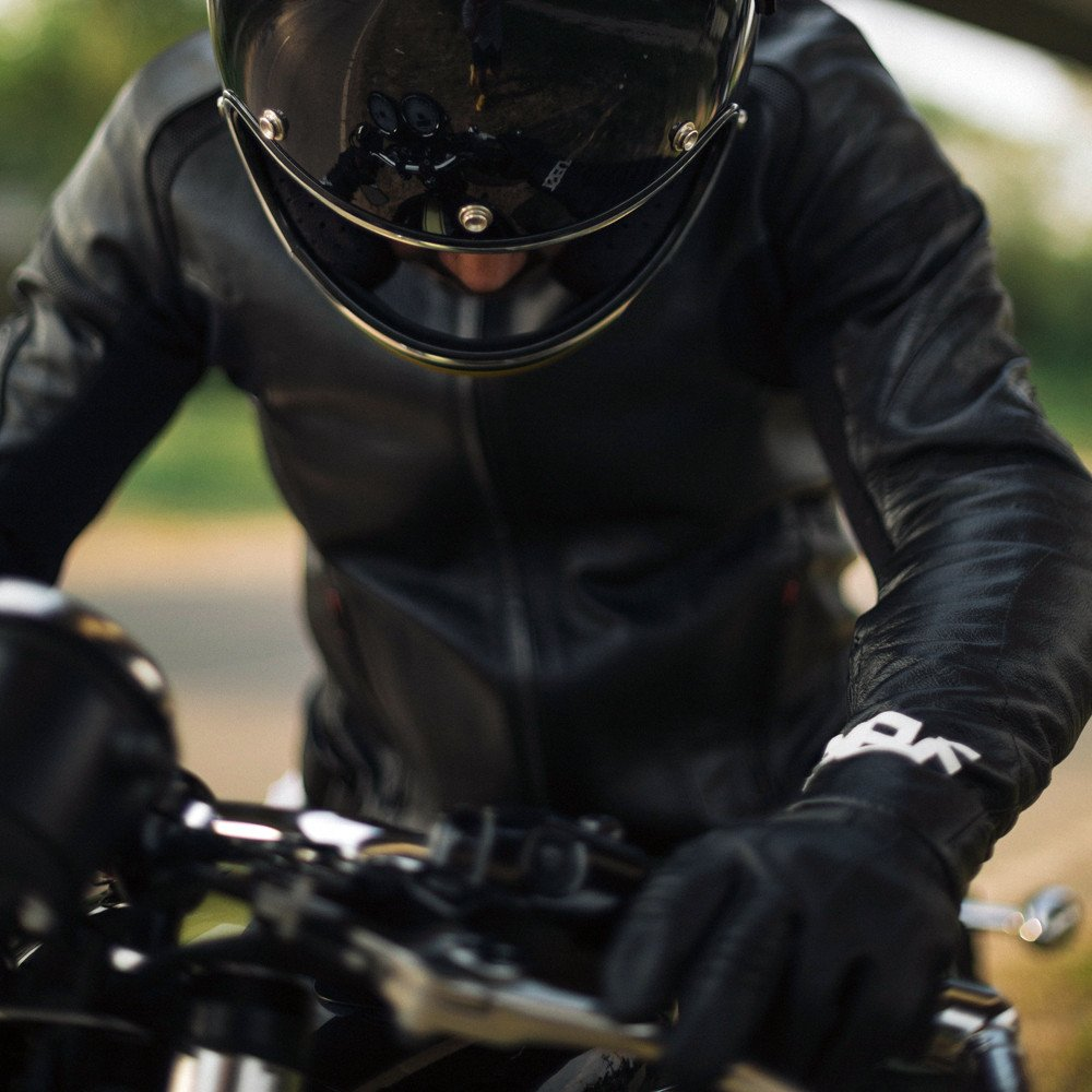 1SELF-Horselover-jacket-cuir-blouson-moto-motorcycle-knox-protection-CE-Genesys-Tiger Clique-veste-Kangourou-