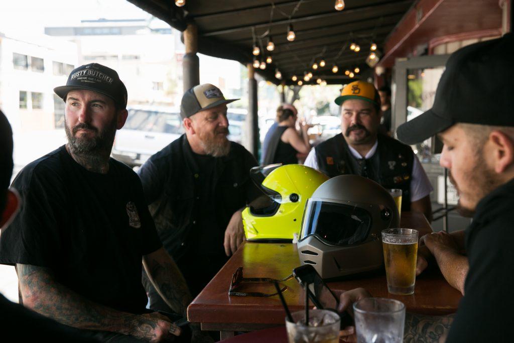 Biltwell-Lane splitter-helmet-casque-ECE-ece-Rusty Butcher-Simpson M30-Lane-Splitter-motorcycle-custom-kustom-sécurité-moto-