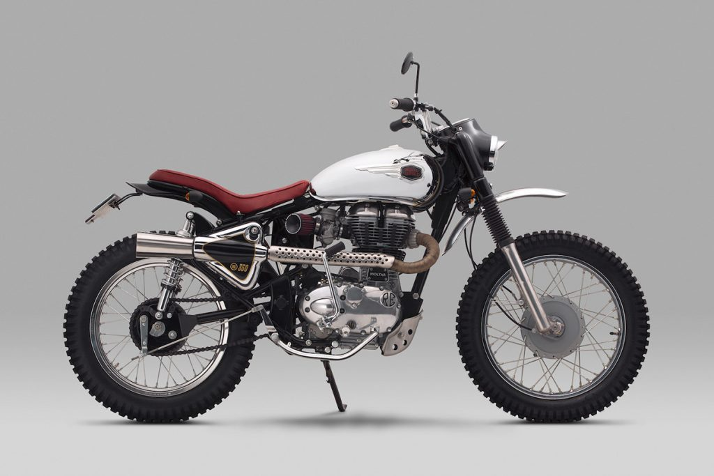 Royal Enfield-Bullet 350-Bullet-350-Moltar-Thrive Motorcycle-Thrive-Motorcycle-HIMALAYAN-motorcycle-kustom-custom-scrambler-off road-
