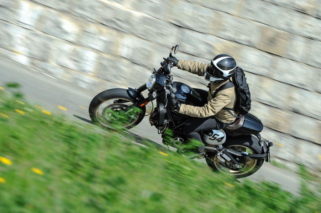 Essai Ducati Scrambler Cafe Racer