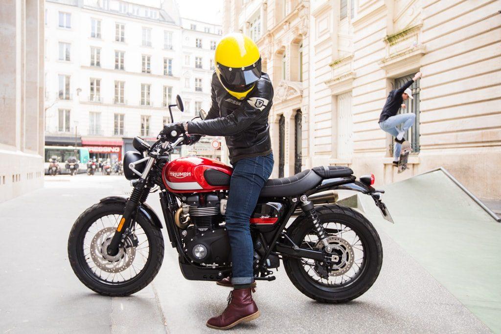 Essai de la Triumph Street Scrambler, badass style.