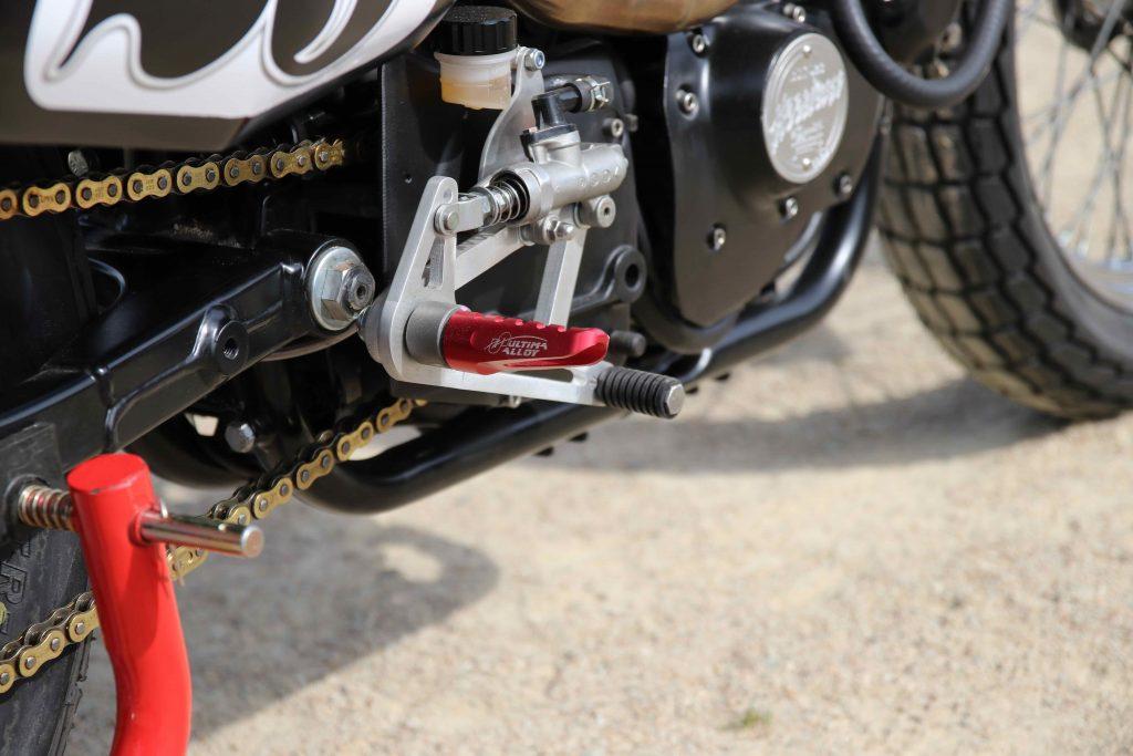 Harley-Davidson Sportster-BCKustoms-XLH 883-Harley-Flat Track-Dirt Track-1992-Custom-kustom-Laurent Boyer-FB L.Boyer Visions-Yann