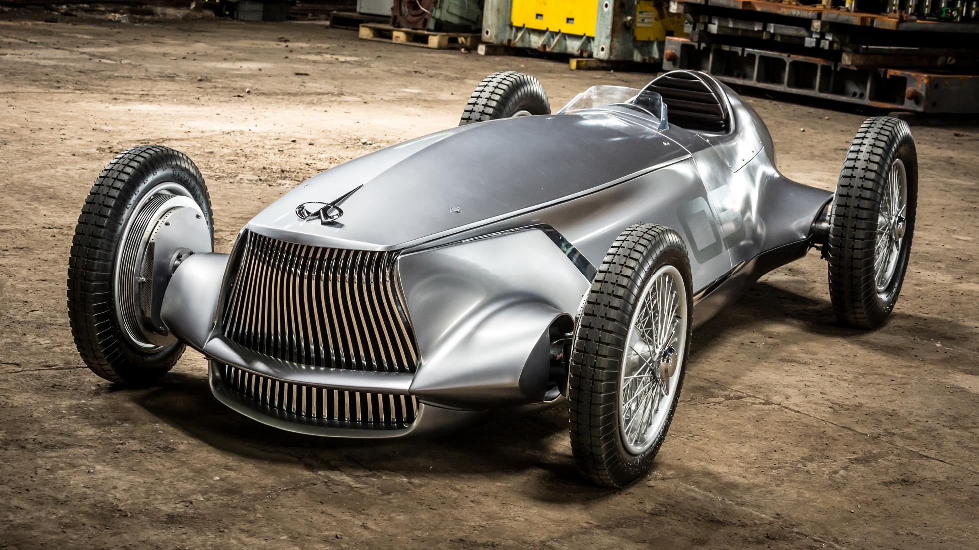 prototype infiniti 9EV concept car vintage grand prix