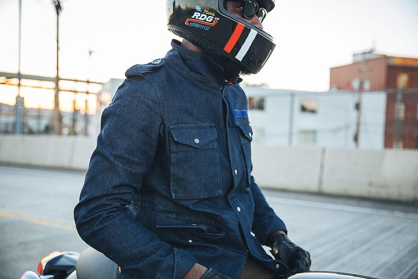 PANDO moto M65 jacket lituany