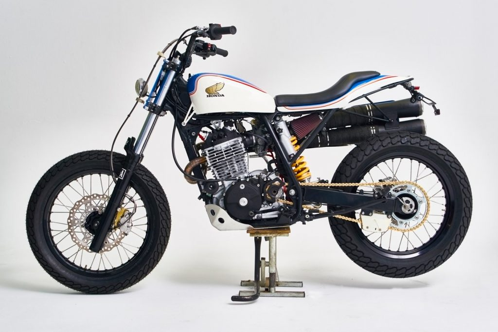 Flat Track-Honda-XR600R-Vintage-Addiction's-Vintage Addictions, Crew, Racing Canet, Carlos