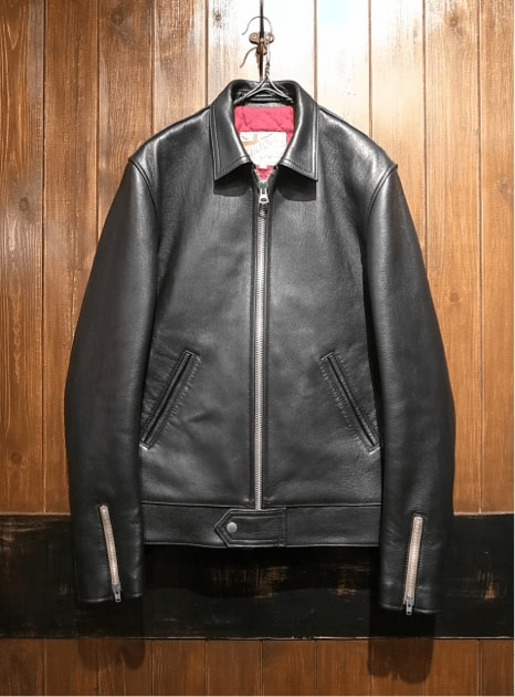 addict clothes japan cuir jacket