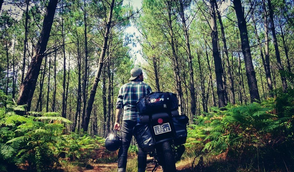 Tout quitter pour partir a moto
