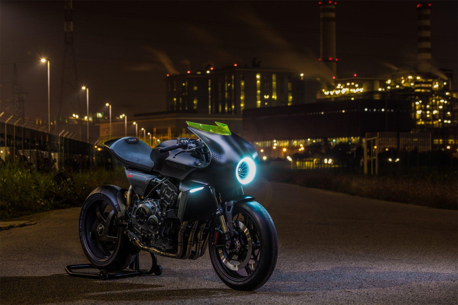 Honda CB1100 interceptor nouveauté EICMA 2017