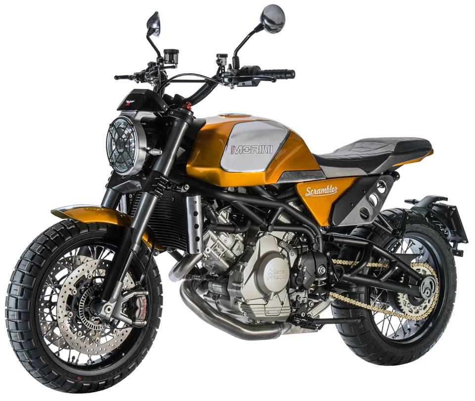 Moto morini 1200 scrambler nouveauté EICMA 2017