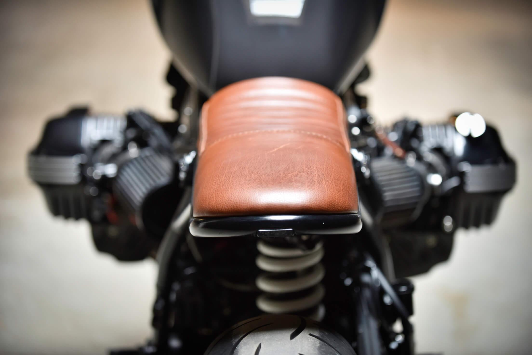 BMW NineT ninety cafe racer prepa garage custom lyon BF Motorcycles
