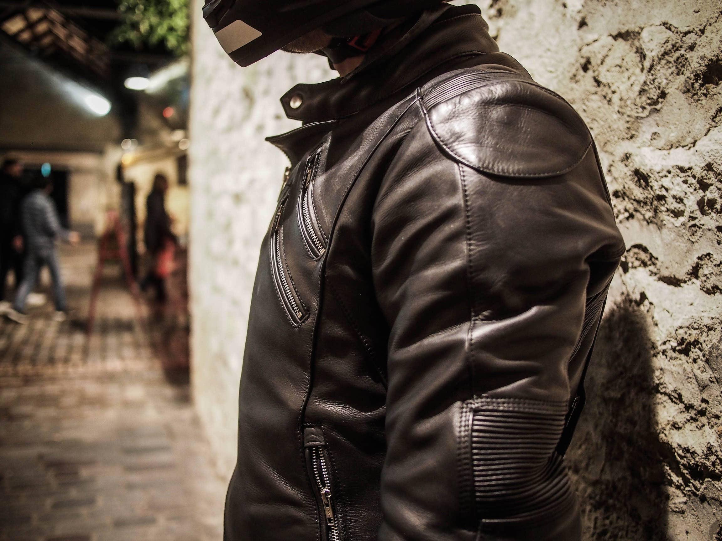 DXR icarus motoblouz test avis cuir pas cher moto
