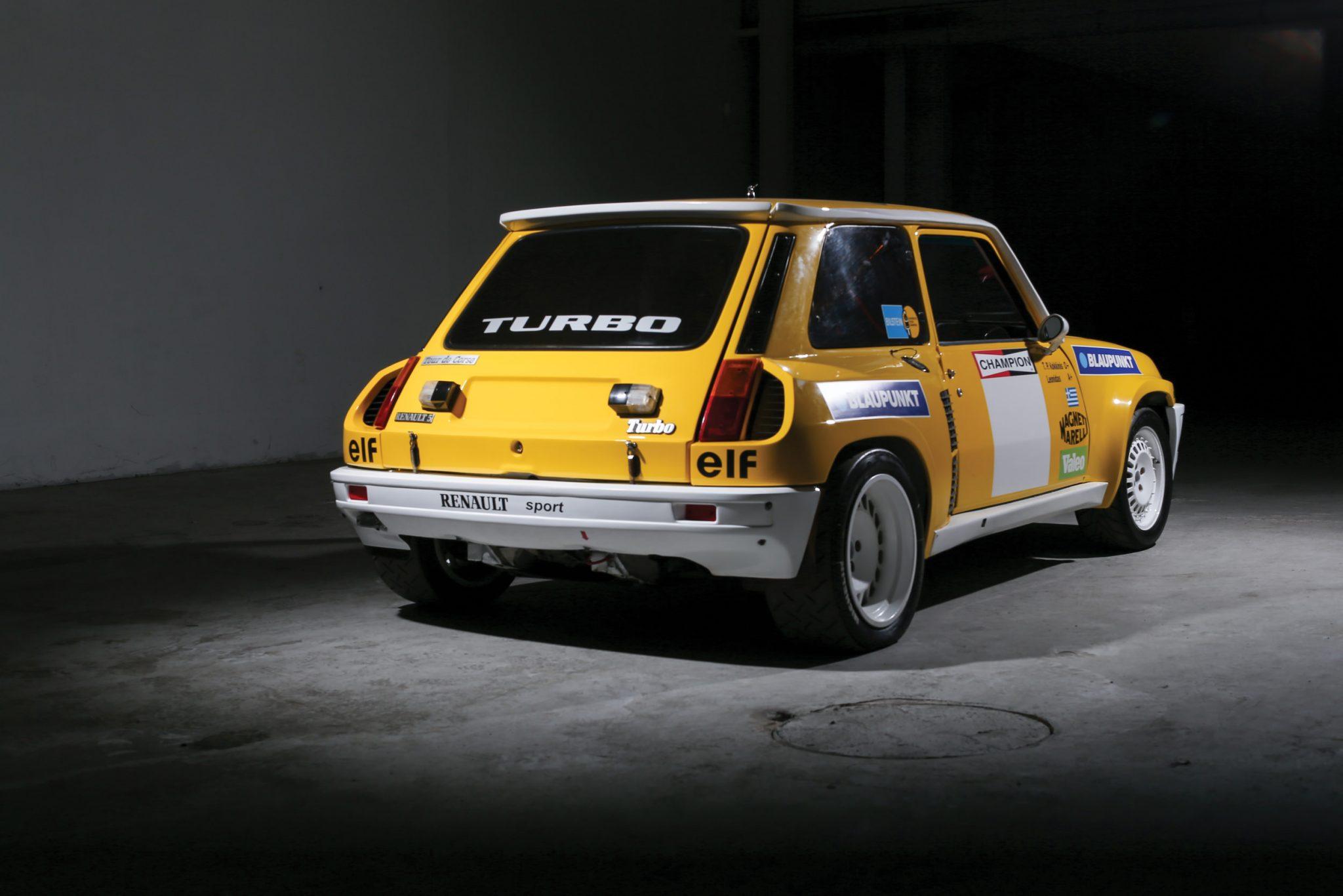 renault 5 turbo photo corse vintage