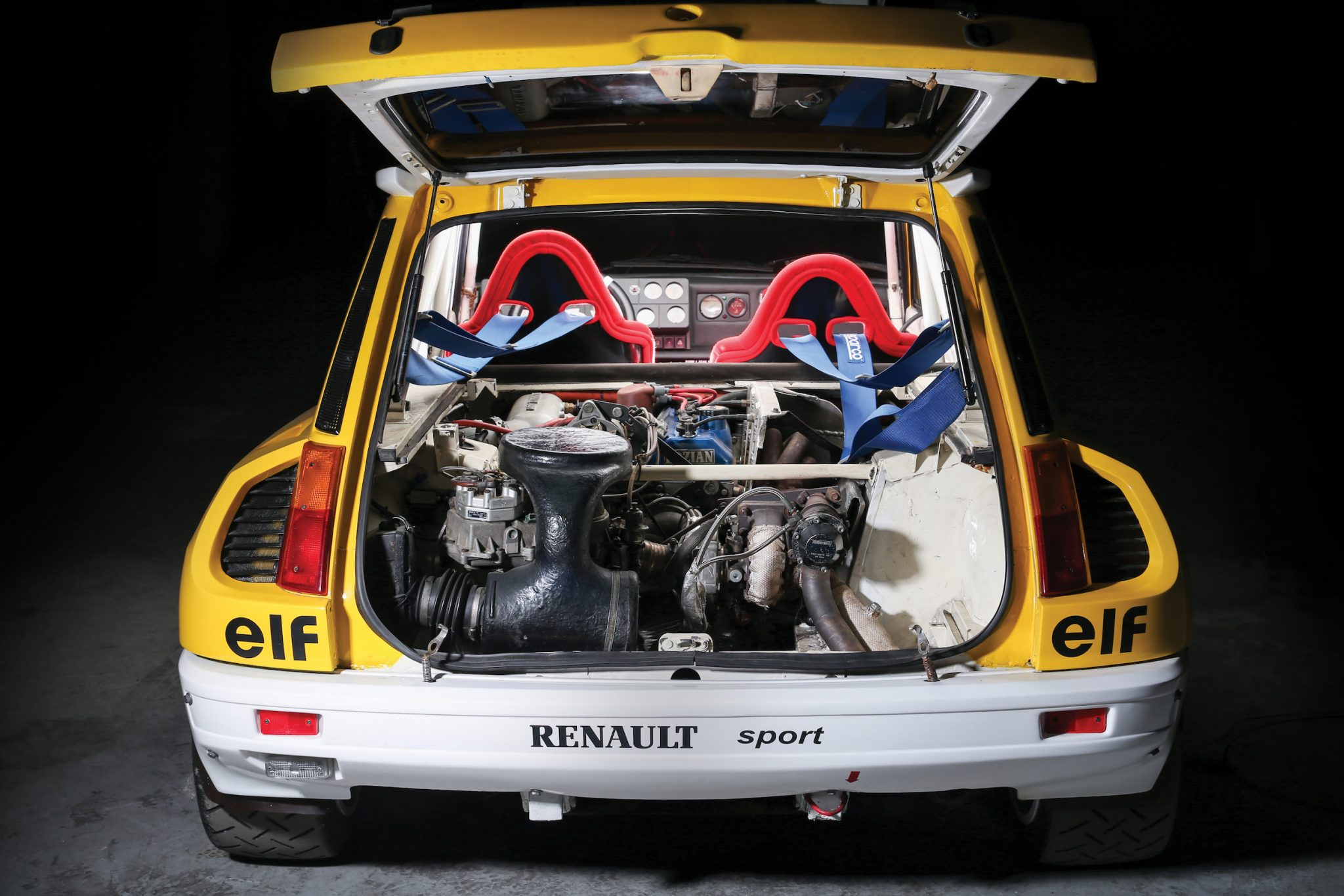 renault 5 turbo photo corse vintage