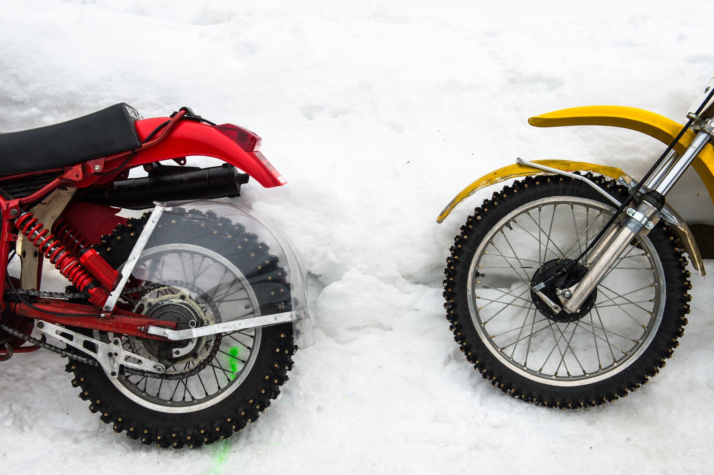 snow quake snow quake dirt Track glace ice marco belli