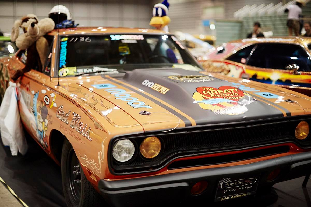 hot rod custom show HRCS Mooneyes japon livre serious publishing